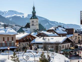 village in ski resort