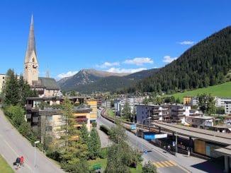 summer in Davos