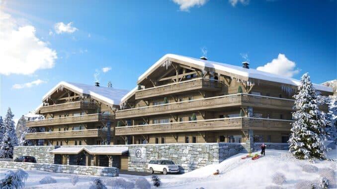ski chalets in Chatel
