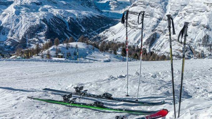 Heavy Snowfall Across The Alps