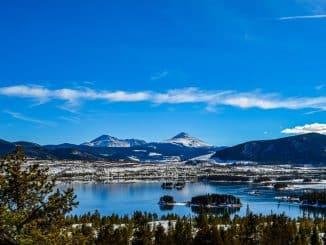 landscape mountain & lake views