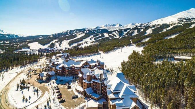 ski flats in snow